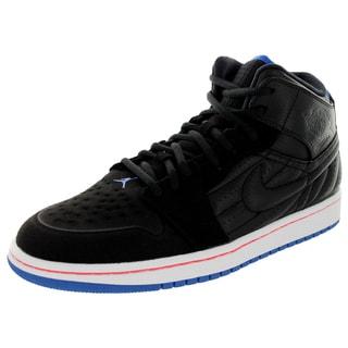 Nike Jordan Men's Air Jordan 1 Retro '99 Black/Sprt Bl/White Basketball Shoe
