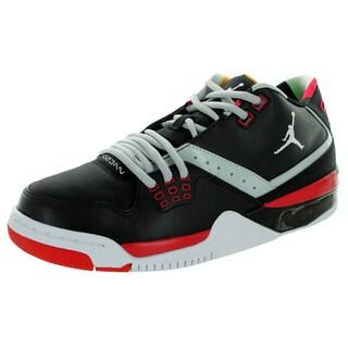 Nike Jordan Men's Jordan Flight23 Black/White/ Mst/University Red Basketball Shoe