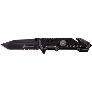 Mtech Assisted Opening Stainless Steel Seismic Rescue Knife