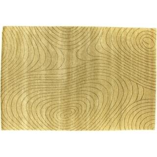 Exquisite Rugs Metropolitan Beige New Zealand Wool Rug (9' x 10')