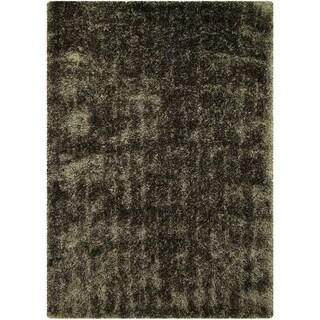"LYKE Home Jumbo Thick Shag Area Rug Sage Green 5""0X7""0 - 5' x 7'"