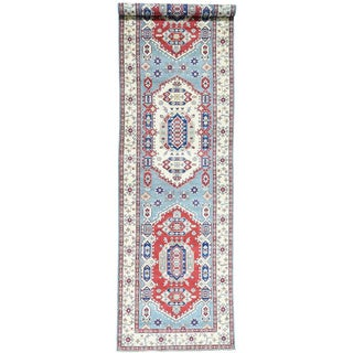 Hand-Knotted Gallery Size Kazak Tribal Oriental Rug (5'3x19'9)