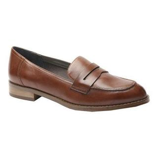 Women's Ros Hommerson Delta Penny Loafer Coffee Leather