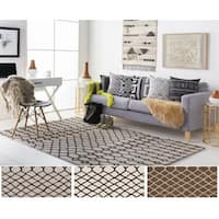 Hand-Tufted Trace Wool Rug (5' x 8')