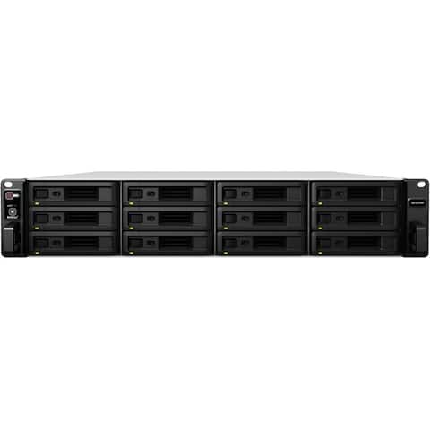 Synology RX1217 Drive Enclosure Serial ATA/600 - Infiniband Host Interface Rack-mountable