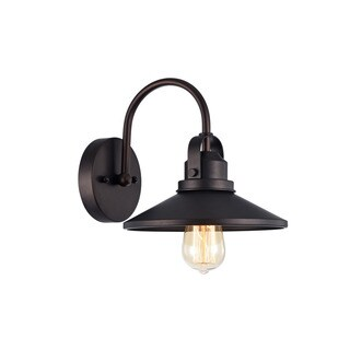 Pine Canopy Payette Industrial 1-light Oil Rubbed Bronze Wall Sconce