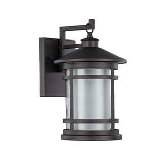 Chloe Transitional 1-light Oil Rubbed Bronze Outdoor Wall Sconce|https://ak1.ostkcdn.com/images/products/12341299/P19171202.jpg?impolicy=medium