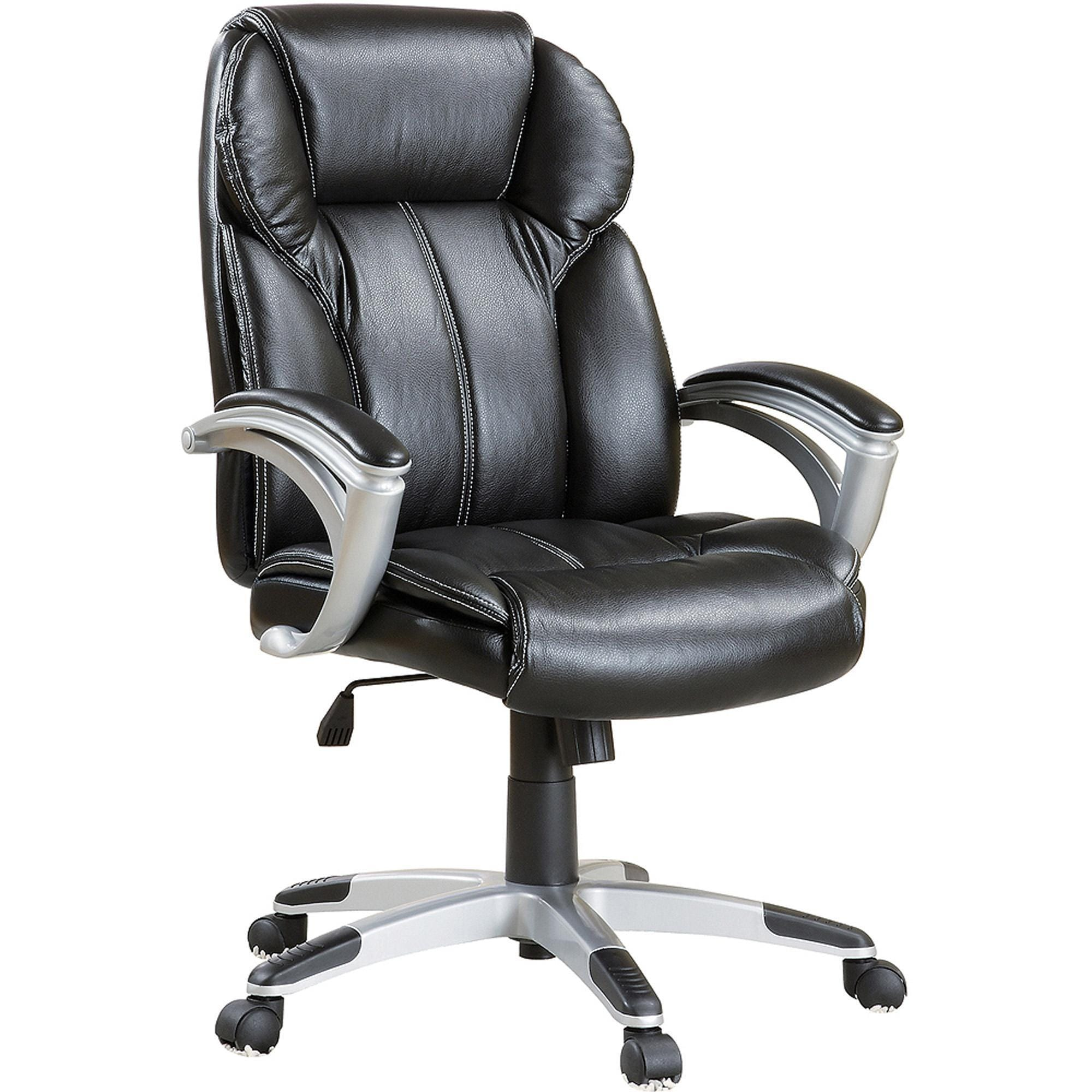 Executive Ergonomic Plush Office Chair With Padded Arms
