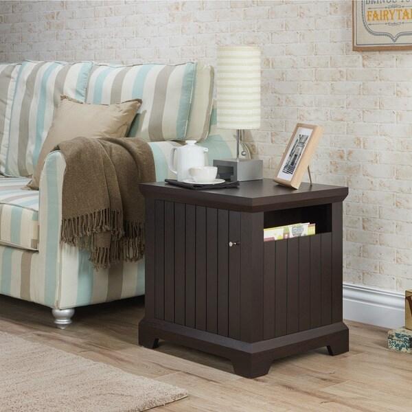 Shop Furniture Of America Kravin Transitional Cappuccino