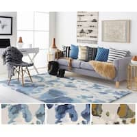 Hand-Tufted Verdi Wool Rug - 5' x 8'