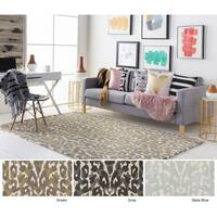Hand-Tufted Vesey Wool Rug - 8' x 10'