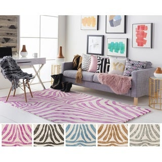 Hand-Tufted Villa Wool Rug (4' x 6')
