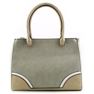 Kelly & Katie Women's 'Zipper Satchel' Faux Leather Handbag