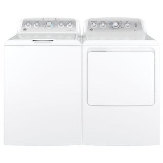 GE Top load Washer and Long Vent Electric Dryer Pair
