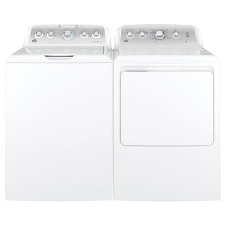 GE Top-load Washer and Long Vent Gas Dryer Pair