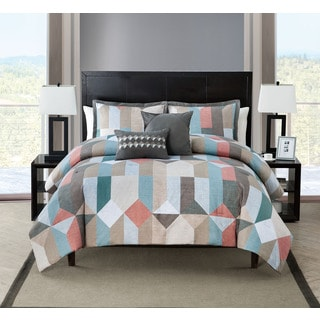VCNY Aspect 5-piece Comforter Set