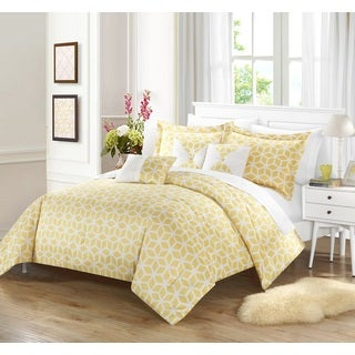 Chic Home Ritchelle Yellow 10-Piece Bed in a Bag Comforter with Sheet Set