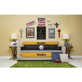 Licensed NFL Pittsburgh Steelers Sofa Protector