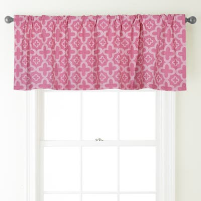 Grand Avenue Azami 54 x 18-inch Rod-Pocket Curtain Valance - 54 x 18