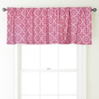 Alex 54-Inch Wide Rod Pocket Window Valance