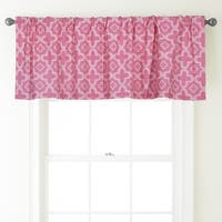 Nanshing Alex 54 x 18-inch Rod-Pocket Curtain Valance - 54 x 18