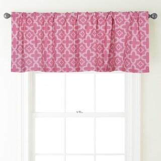 Nanshing Alex 54 x 18-inch Rod-Pocket Curtain Valance - 54 x 18