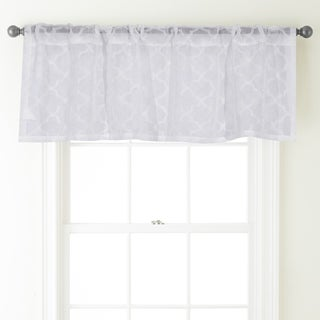 Nanshing Jess 54 x 18-inch Rod-pocket Curtain Valance - 54 x 18