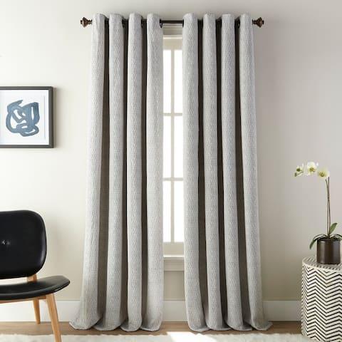 Grand Avenue Gemma 84-inch Grommet Top Curtain Panel - 54X84