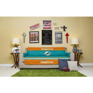 Miami Dolphins Licensed NFLSofa Protector