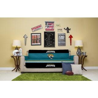Licensed NFLJacksonville Jaguars Sofa Protector