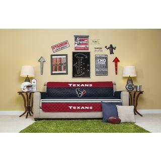 Houston Texans Licensed NFLSofa Protector