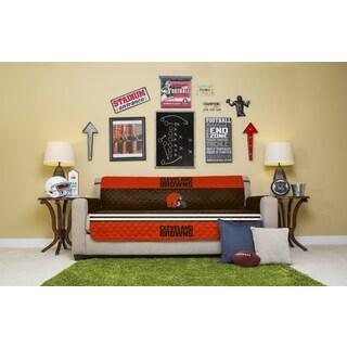 Licensed NFLCleveland Browns Sofa Protector