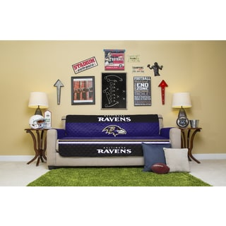 Baltimore Ravens Licensed NFLSofa Protector