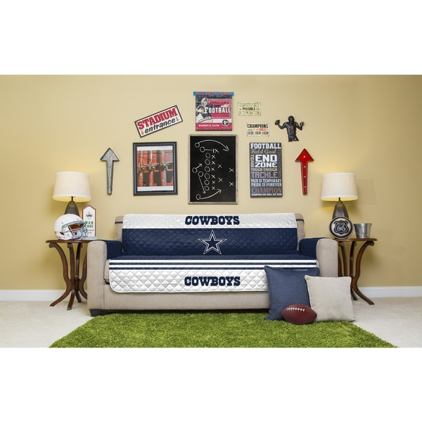 Licensed Nfldallas Cowboys Sofa Protector Free Shipping