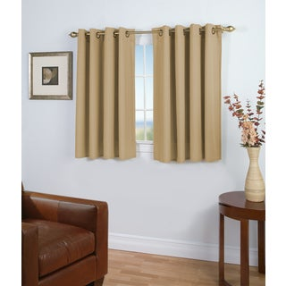 Curtains Ideas curtain panels on sale : Aurora Home Solid Insulated Thermal Blackout 63-inch Curtain Panel ...