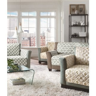 Sure Fit Furniture Flair Collection Loveseat Furniture Protector