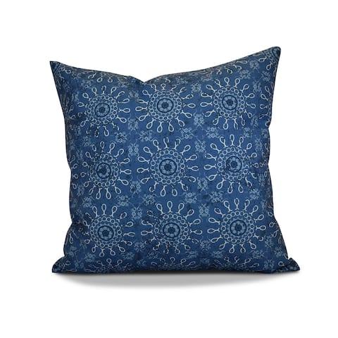26 x 26-inch Sun Tile Geometric Print Pillow