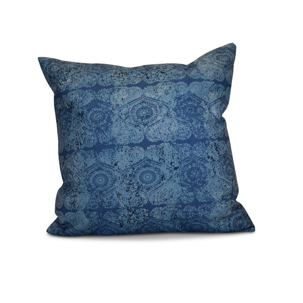 26 x 26-inch Patina Geometric Print Pillow
