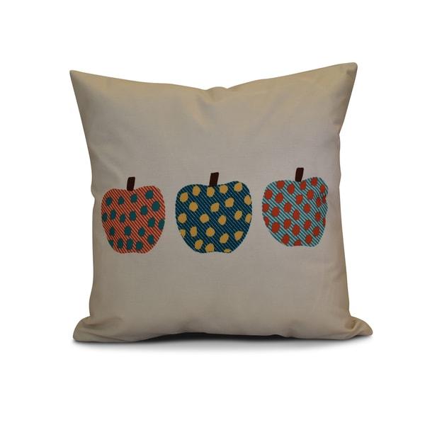 26 x 26-inch 3 Little Pumpkins Geometric Print Pillow