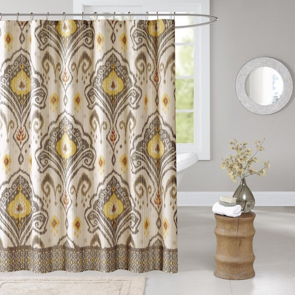 Madison Park Sabina Shower Curtain 3 Color Option Free Shipping On Orders Over 45 Overstock