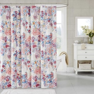 Madison Park Bess Cotton Shower Curtain