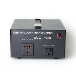 110V/220V 3000-Watt Step Up/Down Voltage Converter Transformer With Circuit Breaker Protection