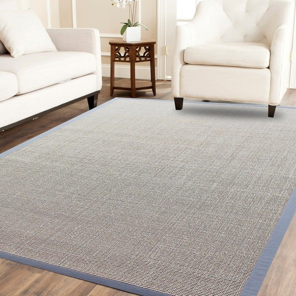 Boucle Sahara Sisal Rug With Cotton Border - 8' x10'