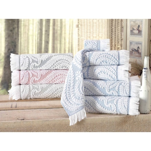 Laina Turkish Cotton Hand Towel (Set of 8) - 16x28 inches