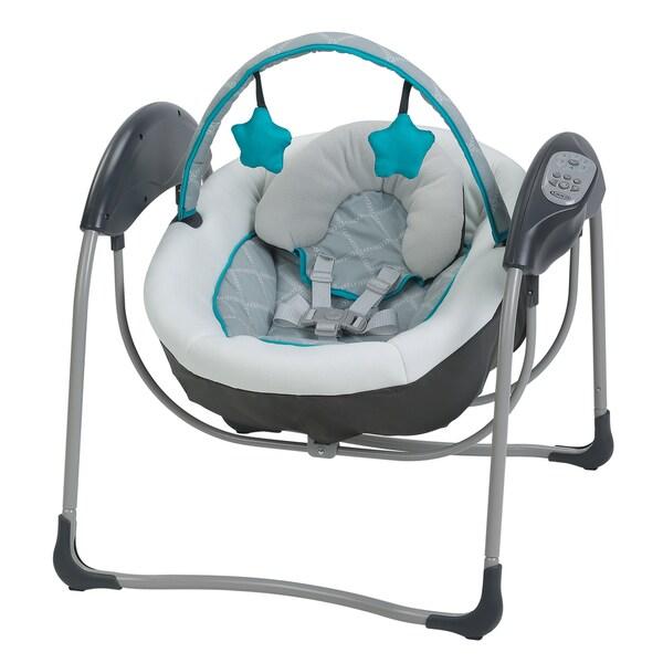 Graco Glider Lite Baby Swing, Finch
