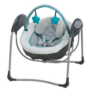 Graco Glider Lite Baby Swing, Finch|https://ak1.ostkcdn.com/images/products/12343684/P19173007.jpg?impolicy=medium