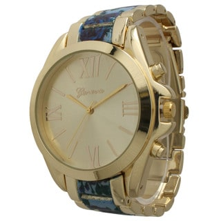 Olivia Pratt Floral Bracelet Watch