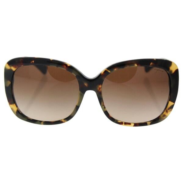 a04bc0afba7 Coach HC8158 L139 532413 Dark Vintage Tortoise Womens Plastic Square  Sunglasses