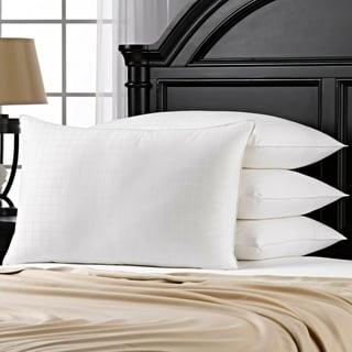 Link to 100% Cotton Windowpane Down-Alternative Gel Fiber Standard-Size Pillow (Set of 4) Similar Items in Pillows