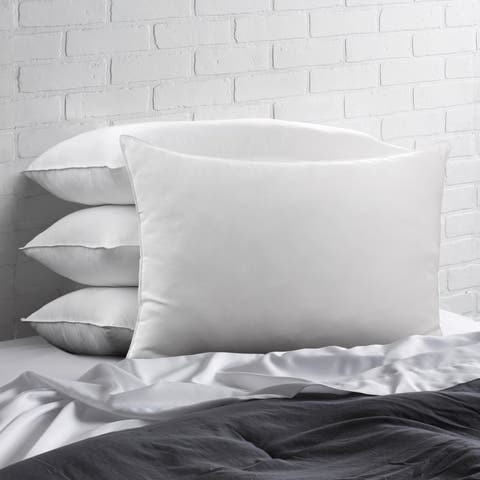 Signature Allergy Resistant Down-Alternative Gel Fiber Standard-Size Pillow (Set of 4) - White